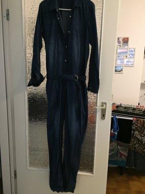 3947a70648ae4 Trouser Suit cornflower blue cotton