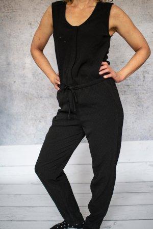 H&M Combinaison noir tissu mixte