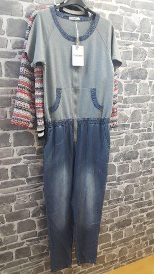 overall aus Jeans mit RV