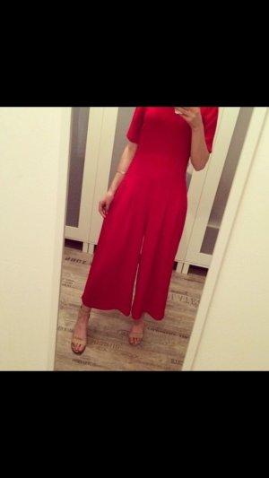Zara Robe rouge brique