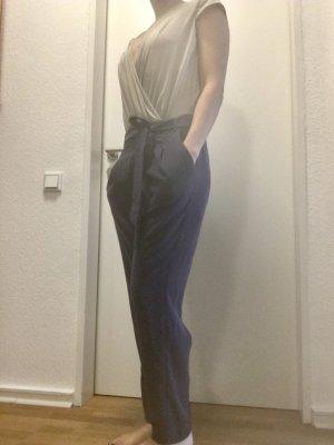 esprit collection Suit Trouser dark blue-cream