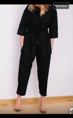 H&M Dungarees black-anthracite