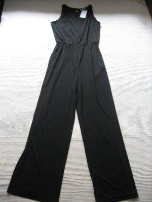 overall H&M jumpsuit neu, mit etikett schwarz gr. s 36 sommer party