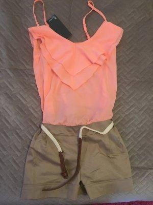 Overall Hosenanzug Jeans Gr. 36 S Tally Weijl Zara H&M Blogger