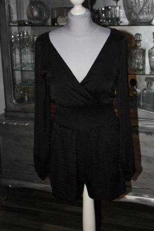 overall jumpsuit h m 34 schwarz. Black Bedroom Furniture Sets. Home Design Ideas