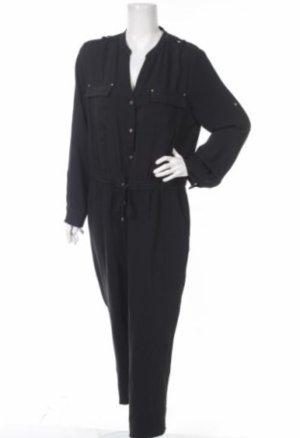 Calvin Klein Jumpsuit zwart-goud Polyester
