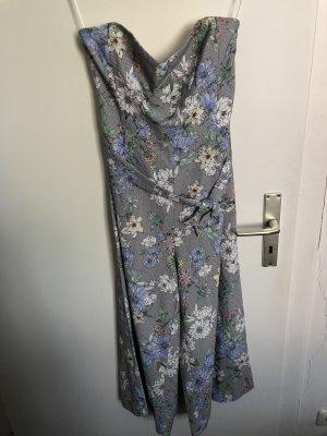 H&M Pantalone culotte grigio chiaro-azzurro