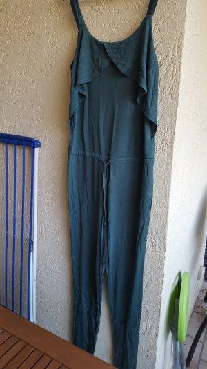 overall von vero moda in dunkel grün