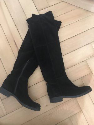 Stivale cuissard nero