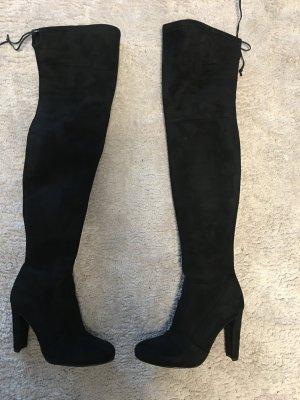 Overknee Boots schwarz