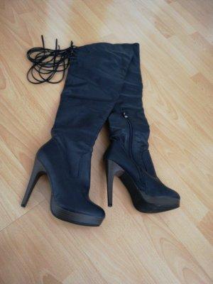 Overknee High Heels Stiefel