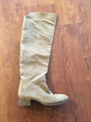 Overknee Stiefel *beige* Zara Basic Gr37