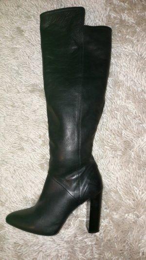 Overknee Stiefel, Echtleder, Zara, Größe 41