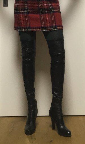 Overknee Stiefel für schlanke Beine