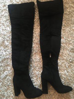 Overknees black