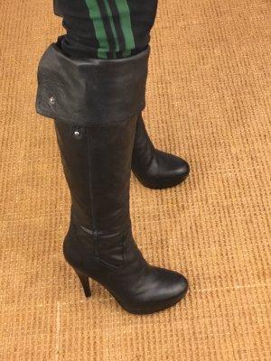 Overknee Stiefel Gr.37 schwarz