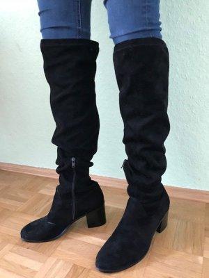 Pennyblack Cuissarde noir cuir