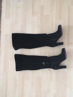 Overknee Stiefel in schwarz