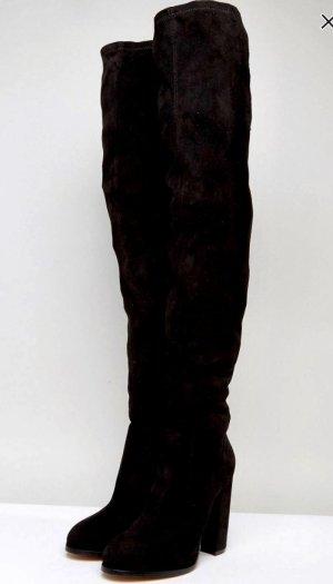 Overknee Stiefel mit Absatz NEU GR.37 ASOS