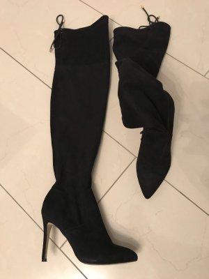 Overknee stiefel mit absatz von der firma anna field