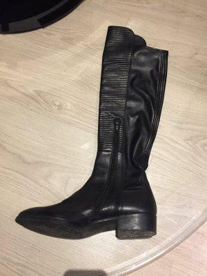 Overknee Stiefel schwarz 39