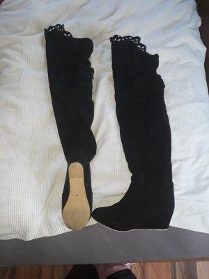overknee stiefel schwarz grösse 40