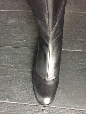 Overknee Stiefel von JIL SANDER Navy