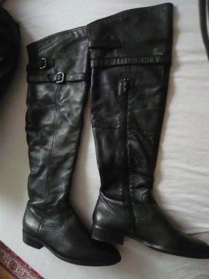 Overknee -Stiefel von Joop Gr 40 schwarz,  Leder