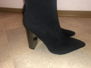Zara Bottes à talon haut noir