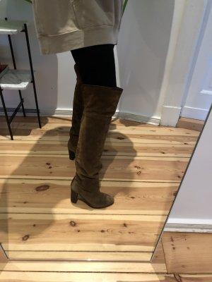 Overknee Stiefel Zara