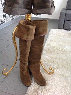 Overkneers Stiefel von Zara