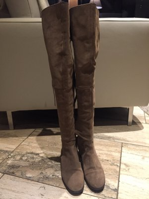 100% Fashion Booties grey brown-light brown