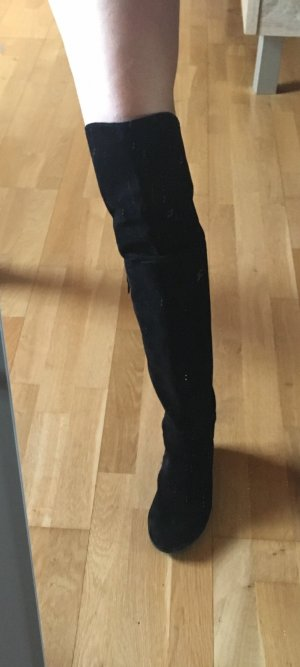Högl Kniehoge laarzen zwart