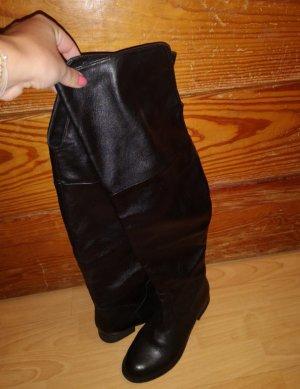 Görtz Shoes Botas sobre la rodilla negro