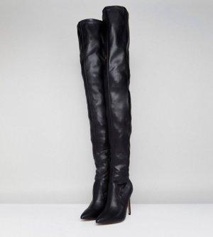 Overknees high heels Stiefel schwarz Gr. 36