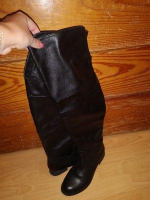Görtz Shoes Kniehoge laarzen zwart