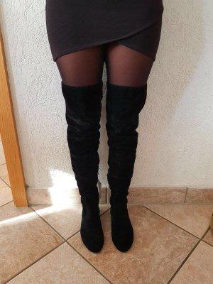 Overknees overknee Stiefel schwarz Trend sexy 39 NEU