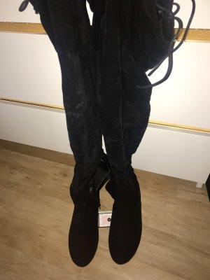 Overknees schwarz boots