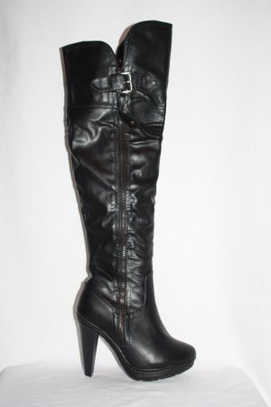 Overknees Stiefel 35 schwarz