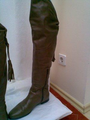OVERKNEES Stiefel mit Dekodetails
