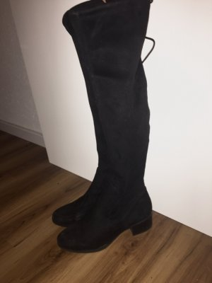 Zara Stivale cuissard nero