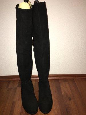 Jackpot Cuissarde noir cuir