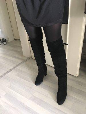 Sam edelman Kniehoge laarzen zwart Suede