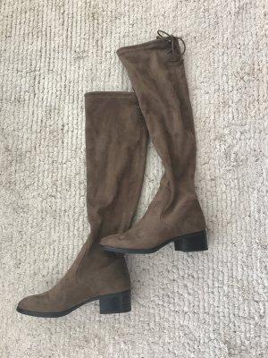 Zara Cuissarde marron clair-brun