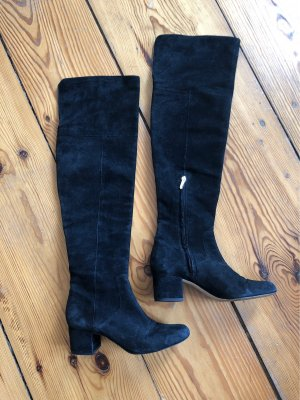 Sam edelman Overknees black leather