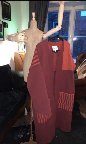 Bimba & Lola Oversized Coat bordeaux-russet