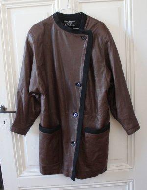 Oversize 80er Jahre Vintage Lederjacke