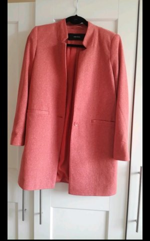 Only Chaqueta estilo camisa albaricoque-rosa empolvado