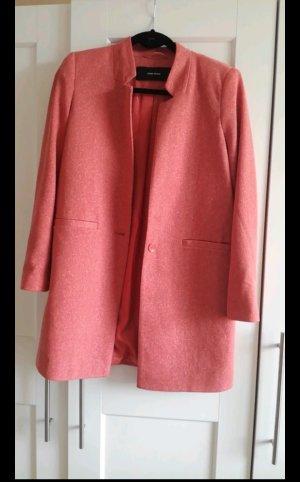 Only Veste chemise abricot-vieux rose