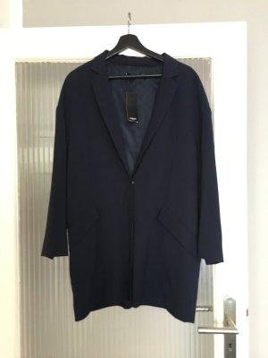 Oversize Blazer / dunkelblau
